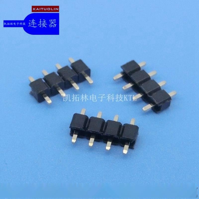 )2.0mm 双排 (单塑、双塑) SMT排针