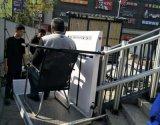 斜挂式楼梯扶手电梯启运成都市重庆液压家用电梯