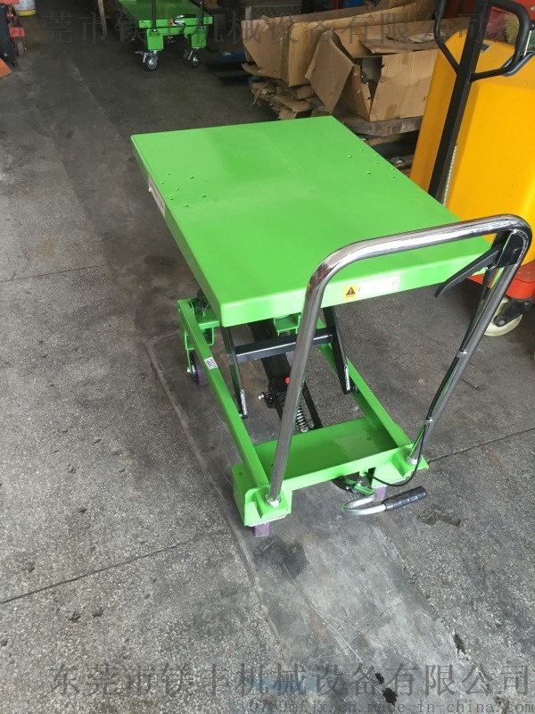 直销 折叠式平台手推车 PT500小型液压升降平台