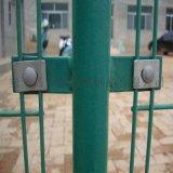 绿色双边丝护栏-浸塑双边丝护栏-绿色双边丝护栏