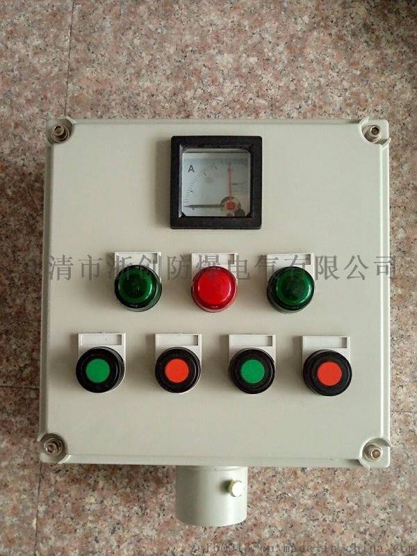 带电流表防爆操作柱/防爆防腐操作柱挂式/立式