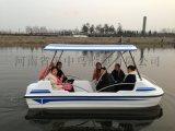 山东 供应水上游玩脚踏船 电动船 天中鸟船艇高