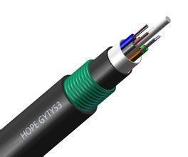 48芯GYTY53光缆、双护套单铠地埋光缆