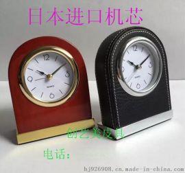 深圳酒店客房实木静音闹钟厂家直销