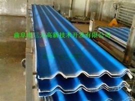 供应秸秆彩瓦机械、复合彩釉瓦设备、铝箔瓦生产线