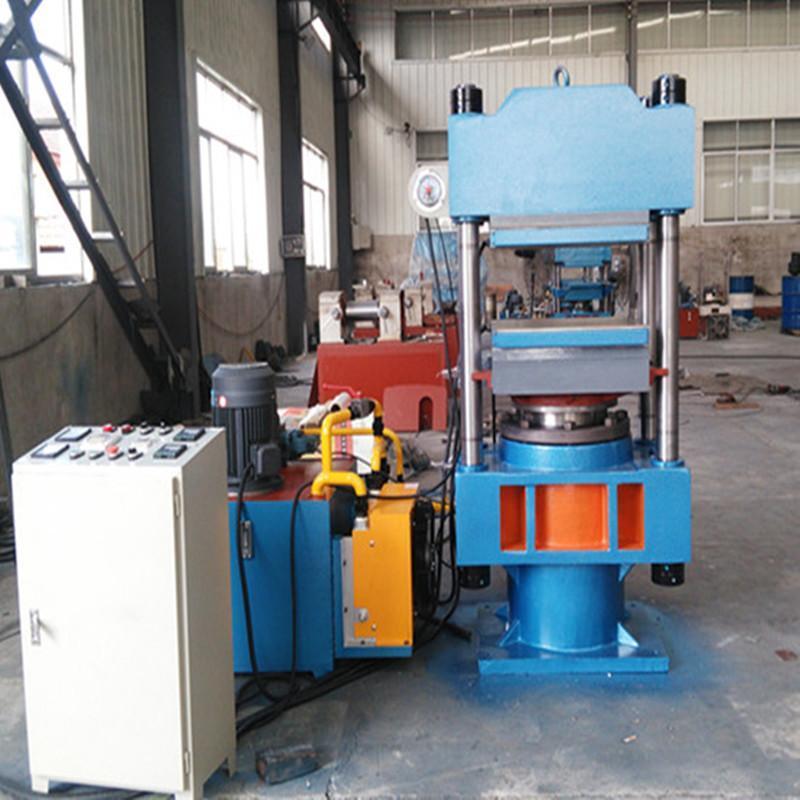 亚华牌160吨四柱式耐高温平板硫化机