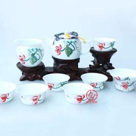 景德镇手绘陶瓷茶具厂家