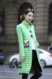 品牌女装直销16年爆款韩范轻薄羽绒服-就选格蕾斯服装有限公司