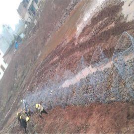 新疆石笼网箱**报价、防汛格宾网生产厂家、生态石笼网规格