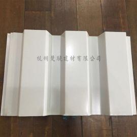 CX-W420彩鋼側嵌板牆面板 表面不打釘梯形暗扣板