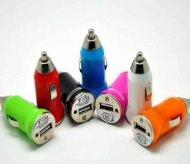 ASIA218CE FCC认证MINI车载充电器,迷你USB车充