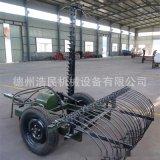 廠家生產割摟一體機拖拉機拍套使用割草機摟草機往複式割摟一體機