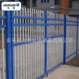 小区围墙护栏 组装方管护栏 高强度耐腐蚀锌钢护栏