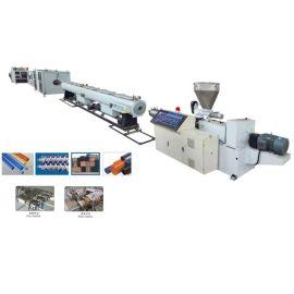 PVC管材生产线设备厂家 塑料穿线 排水管生产设备