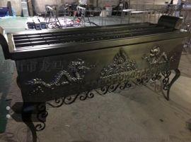 杭州青古铜不锈钢锻打香炉 寺庙纯铜香炉