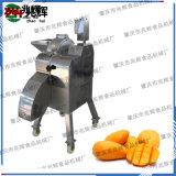 適用於多種水果臺灣進口高速切粒機器,球根莖蔬果切丁機