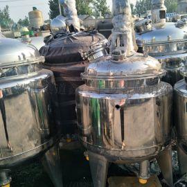 转让二手300L不锈钢电加热反应釜