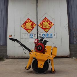 手扶单钢轮振动压路机 全液压柴油动力单轮压路机