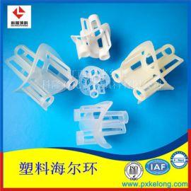 洗涤塔塑料海尔环皇冠型拉西环各种规格PP海尔环现货