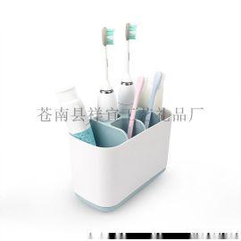厂家直销清洁刷收纳架洗手间洗漱套装浴室置物架