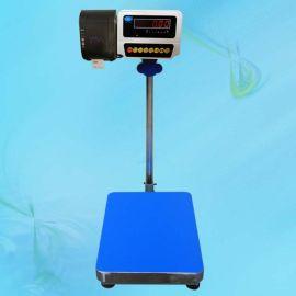 巨天打印电子秤 60kg条码打印称 可预存100种产品名称的打印称