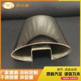 不锈钢椭圆管厂加工304不锈钢椭圆槽管