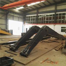 沃尔沃20米加长臂 挖掘机大臂采用高强度合金板铸成