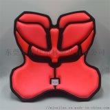 海绵热压成型厂家生产 花瓣办公护腰矫正坐姿坐垫