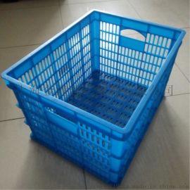上海供應塑料周轉筐,塑料箱PE塑料筐電子包裝筐