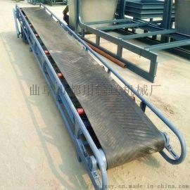 沙土自动装车皮带机 槽型皮带输送机78
