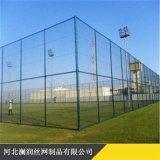 厂家定制铁丝球场围栏 包塑球场勾花网 学校跑道围网