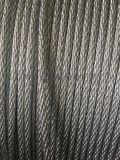 鎖用鍍鋅鋼絲繩6*3*7+1*19-6.0mm