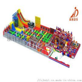室内大型蹦床公园/室内蹦床游乐设备/儿童蹦床乐园