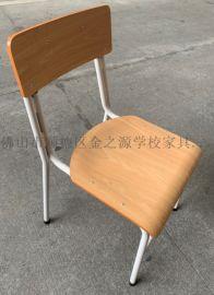 广东厂家可堆叠木制学生椅, 培训椅,出口会议椅