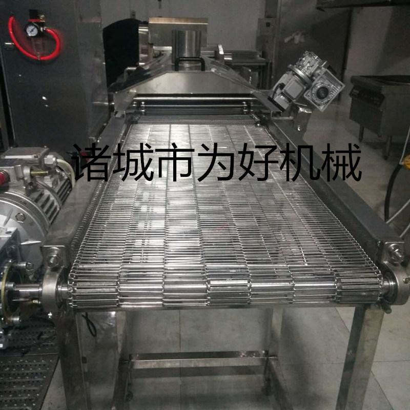 新型油皮油炸线 加工企业专用油炸设备