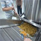 全自動麻葉油炸線設備 智慧黃金鍋巴生產線