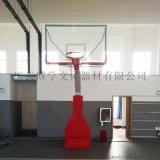 手摇升降篮球架篮球场馆手动液压篮球架