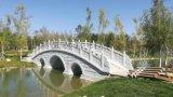 河提石材防护栏 草白玉石栏杆