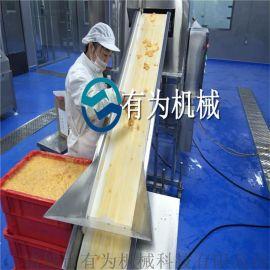 鸡块粘粉机器,炸鸡米花裹粉机,鸡米花上浆上粉设备