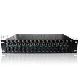 16槽机架式收发器 插卡式 集中汇聚 网络交换机
