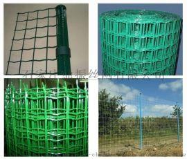 【绿皮方孔养殖网】庆阳生态园绿皮围栏网 畜牧防护网