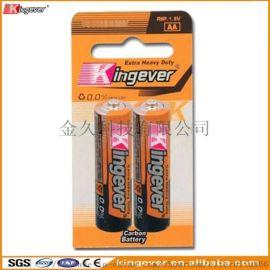Kingever AA 五号碳性电池 卡装