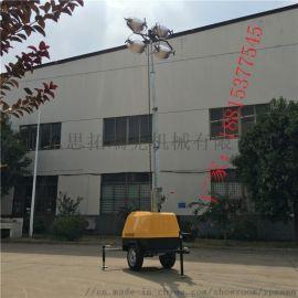 河北邯郸照明车厂家7米移动式可升降4*1000W