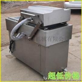 装礼盒小型400单室意大利熏肠烧鸡真空包装机