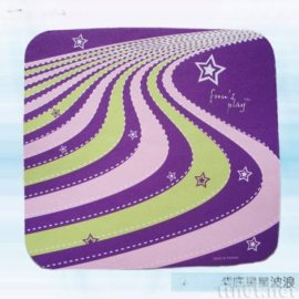 紫底星星波浪滑鼠垫(AW-012)