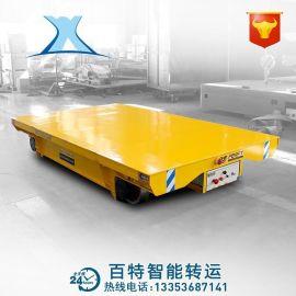 钢板运输蓄电池电平车 交流电动平板车 无轨搬运车自动物流配送