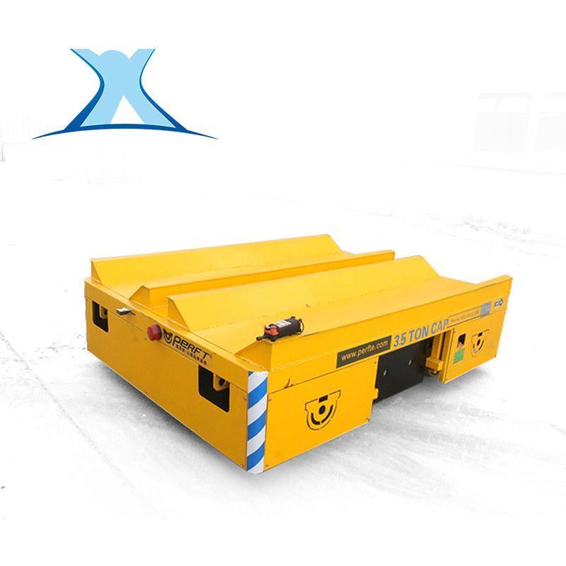 起重机专用车轮渣包平板车优势涂装设备轨道平车图纸