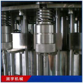 厂家直销全自动酒类灌装机生产线 白酒灌装设备 18头 润宇机械