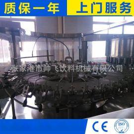 冲洗灌装封口三合一液体灌装机 纯净水灌装设备 灌装
