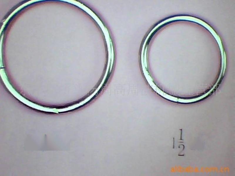 圆圈扣,铁圆圈扣,合金圆圈扣